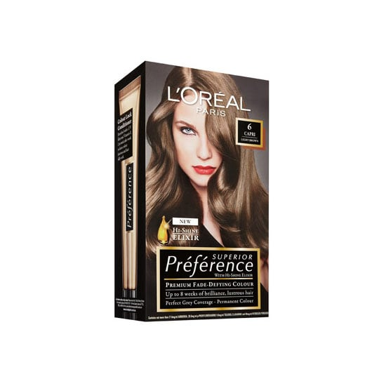 L'Oréal Paris Preference 6 Light Brown, $19.99