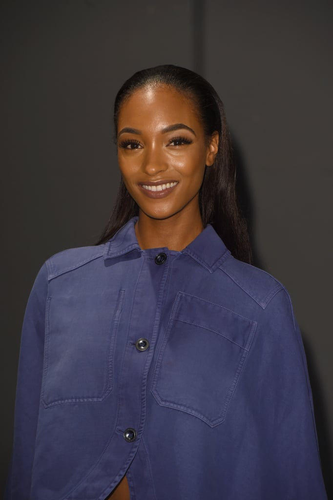 Jourdann Dunn at Burberry
