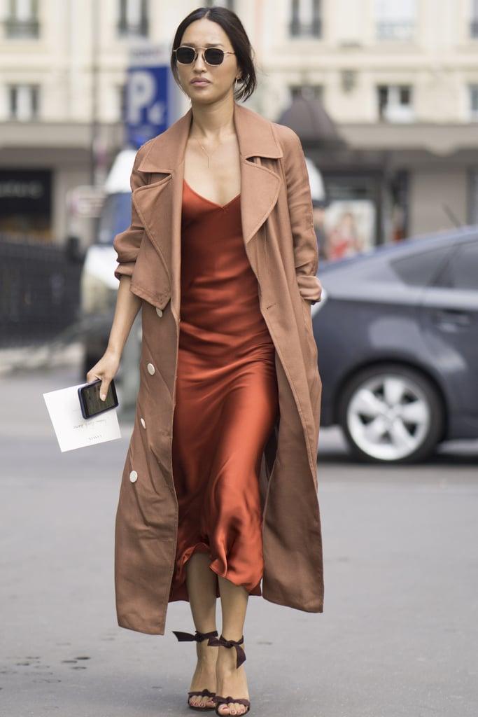 Nicole Warne at Paris Fashion Week Spring 2017