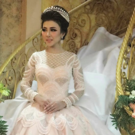 Intan Azzahra Wearing Ivan Gunawan Wedding Gown March 2017