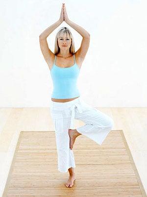 Jennifer Aniston's Favorite Yoga Poses Are . . .