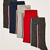 Assorted Color Socks Five Pack