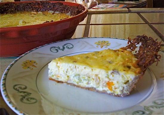 Recipe For Quiche With Potato Crust