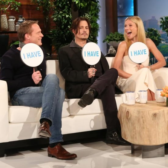 Gwyneth Paltrow Plays Never Have I Ever on Ellen Show
