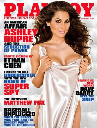 Picture of Ashley Dupre's Playboy Cover