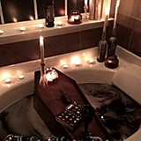 Coffin Bath Tray