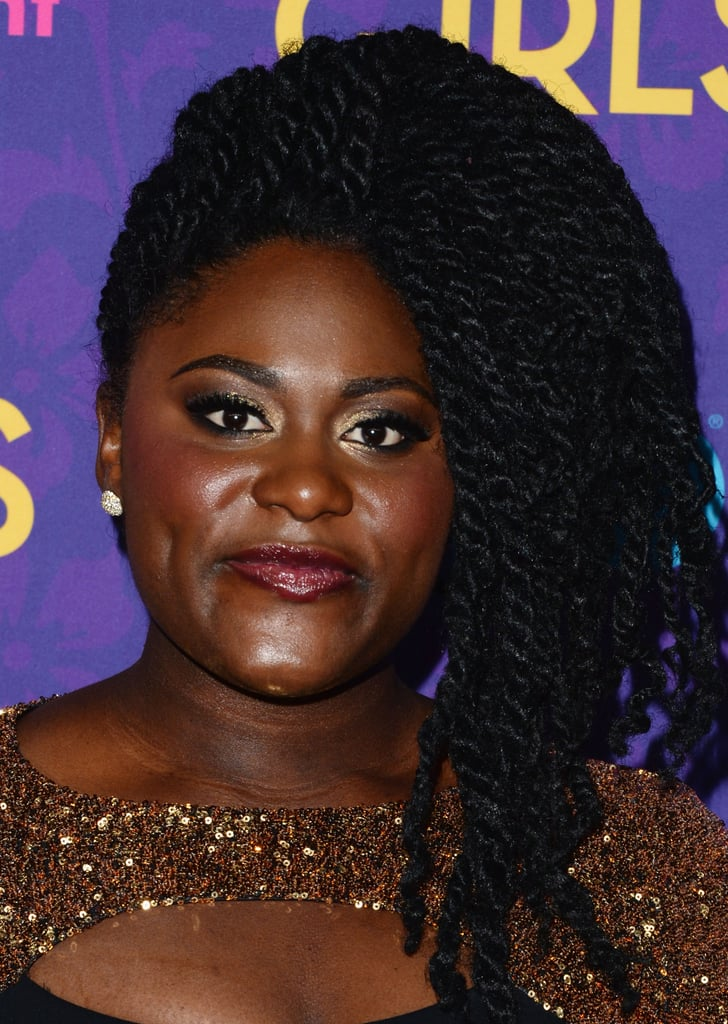 There was no shortage of dramatic hair once Danielle Brooks came down the carpet. Her beautiful braided style was paired with deep lipstick and a sexy smoky eye.