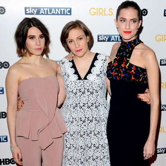Lena Dunham at London Girls Premiere