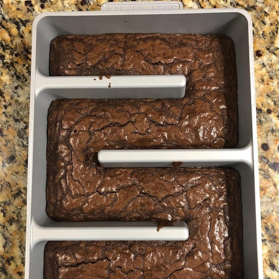 Baking Pan For Edge Brownies
