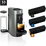 Nespresso VertuoPlus Coffee and Espresso Machine Bundle