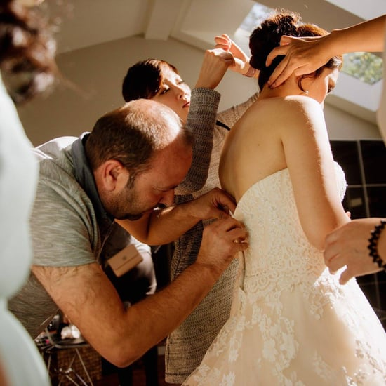 Syrian Refugee Helps Bride With Broken Zipper