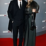 Kevin Costner and his wife, Christine Baumgartner, attended the César Awards.