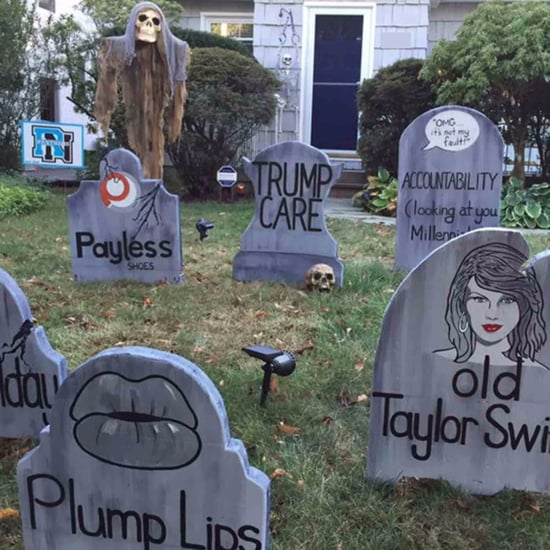 Dad's Funny Halloween Graveyard 2017
