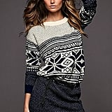 I'm really feeling fair isle right now, and this Victoria's Secret Slouchy Fair Isle Sweaterdress ($78) is perfect in price and look.