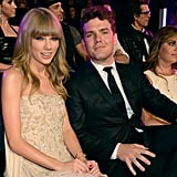 When his suit outshined Taylor's dress.