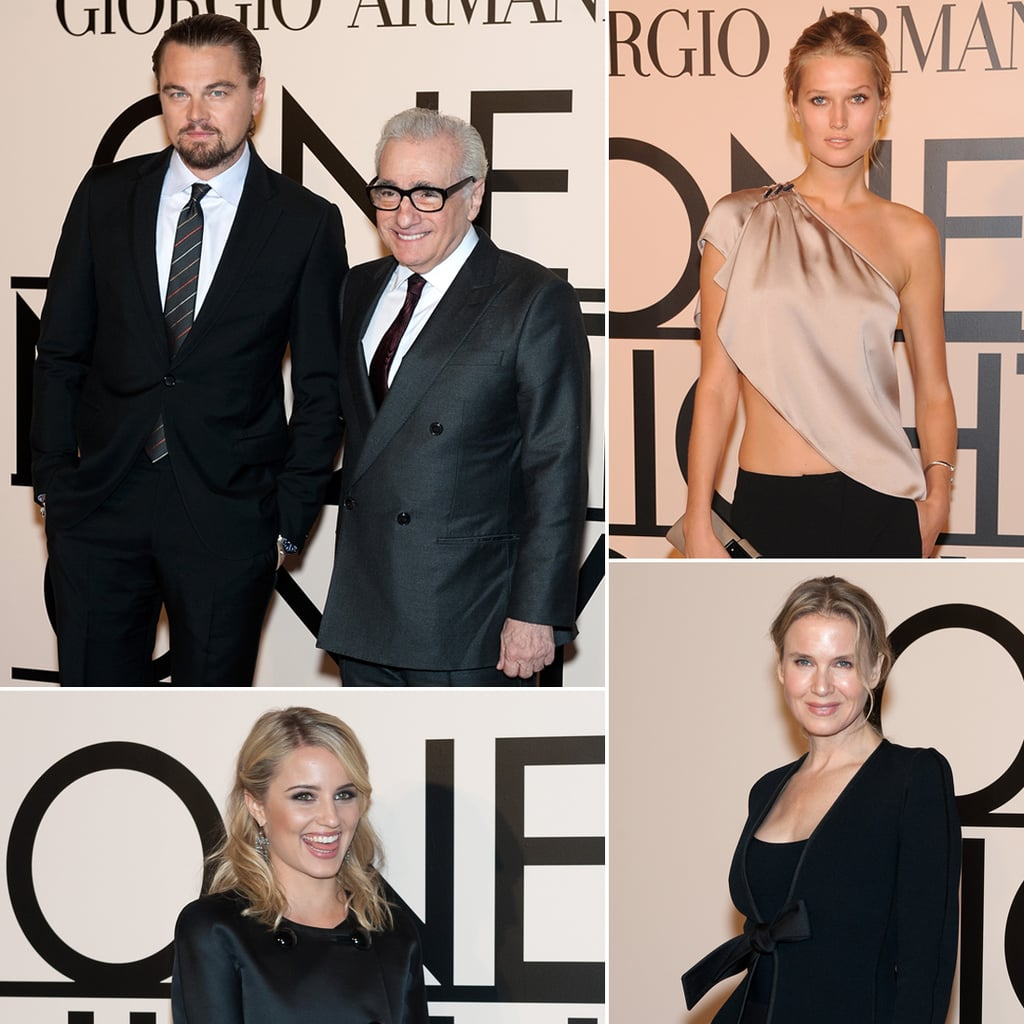 Leonardo DiCaprio And Toni Garrn Still Dating  Armani Event