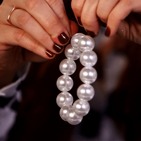 How to Make a Pearl Bracelet (Video)