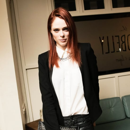 Coco Rocha With Red Hair