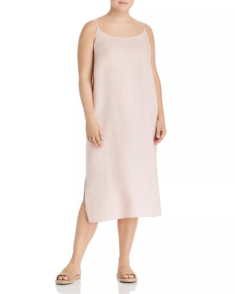 b3a5872a4d Eileen Fisher Organic Linen Slip Dress