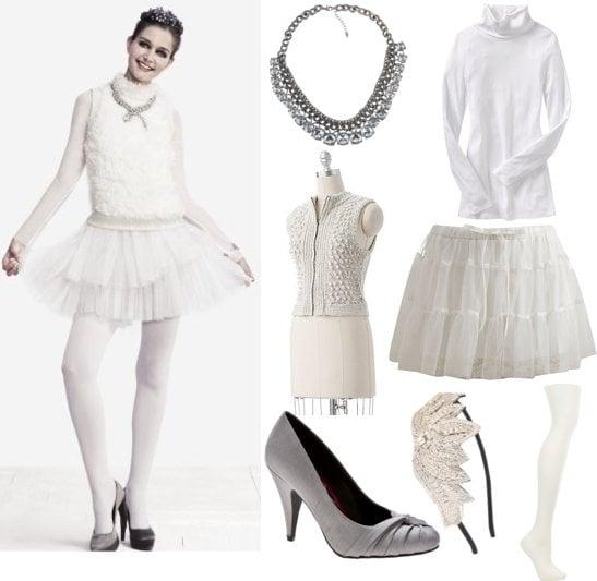 White Swan Halloween Costume Idea