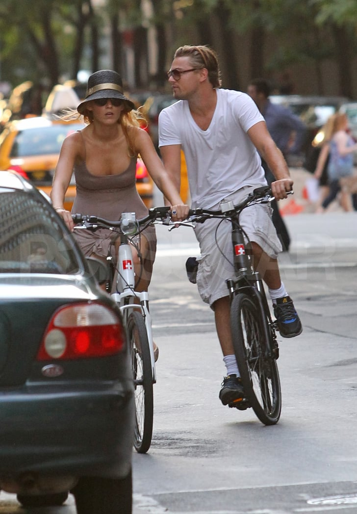 Leonardo DiCaprio and Blake Lively in NYC.