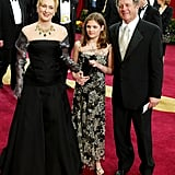 Meryl hit the red carpet with husband Don and daughter Louisa at the 2013 Oscars.