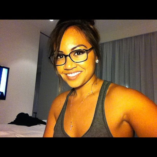 Jessica Mauboy bought six new pairs of glasses. Source: Instagram user mushroom1