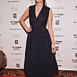 Marion Cotillard in Navy Dior Haute Couture Dress