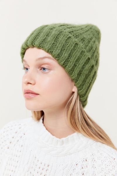 Urban Outfitters Bouclé Knit Beanie