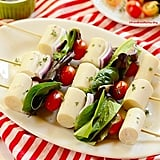 Hearts of Palm Salad Skewers