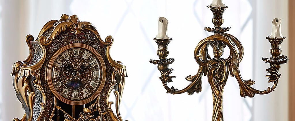 Disney Just Turned Cogsworth and Lumiere Into Real-Life Mantelpieces