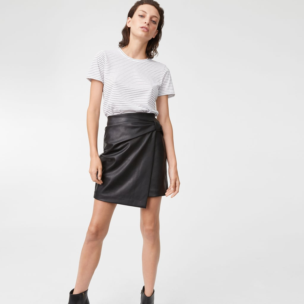 8a064baefc Club Monaco Chavelle Faux Leather Skirt | Best Leather Skirts ...