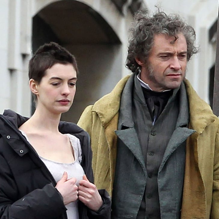 Anne Hathaway Singing Les Miserables Video: Anne Hathaway Les Miserables Pictures With Hugh Jackman