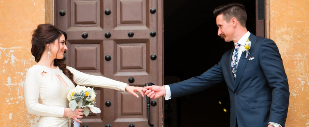 This Intimate Courthouse Wedding Proves Small Definitely Doesn't Mean Boring