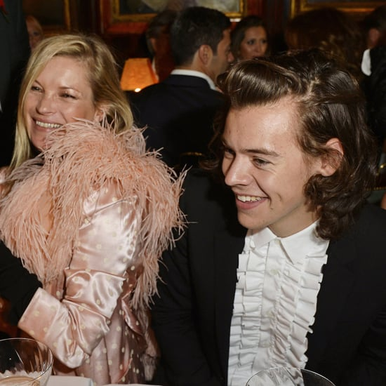 Kate Moss Partying With Harry Styles Pictures