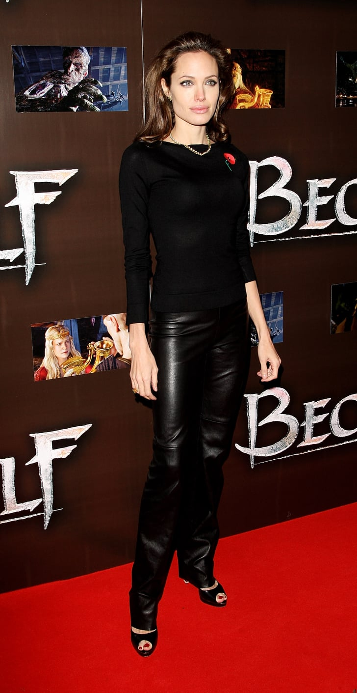 Angelina Jolie S Red Carpet Transformation How Vampy Did