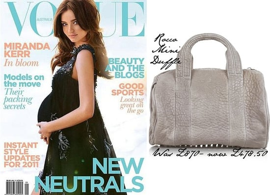 Miranda Kerr Pregnant on the Cover of Vogue, Alexander Wang Outnet Sale