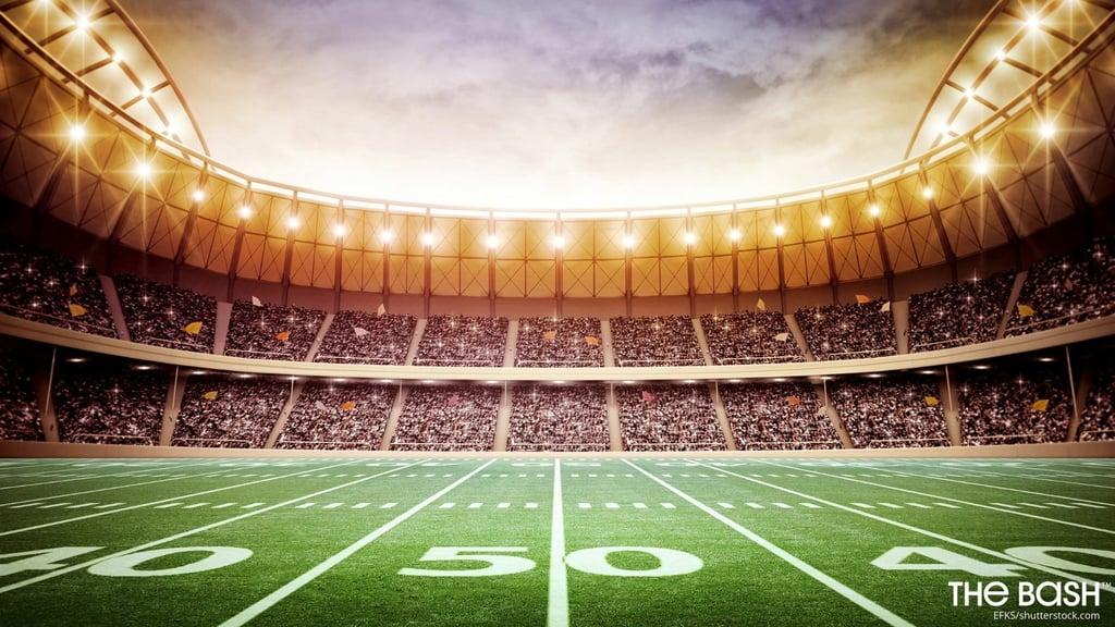 Football Stadium Zoom Background