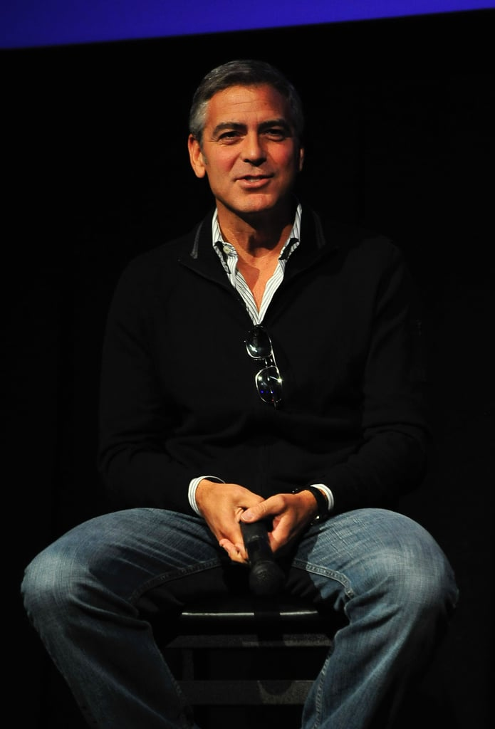 George Clooney at Telluride for The Descendants.