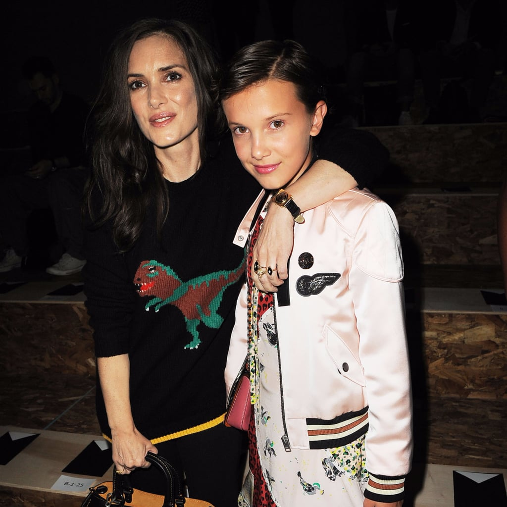 Winona Ryder and Millie Brown in NYC September 2016