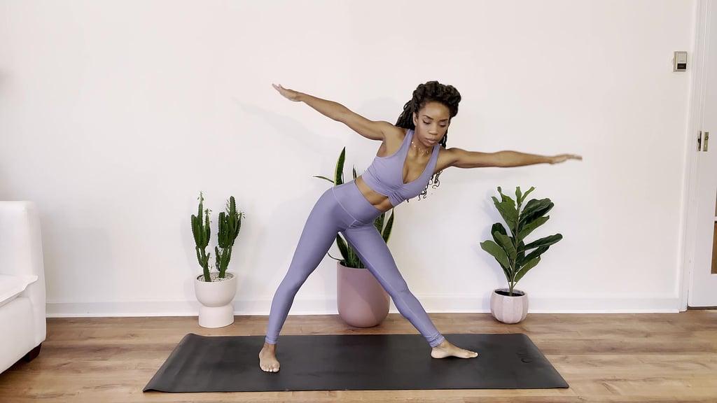 Triangle Pose — 3-5 Breaths
