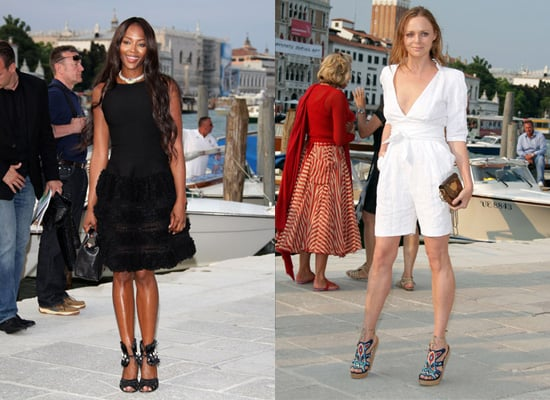 Photos of Naomi Campbell and Stella McCartney in Venice