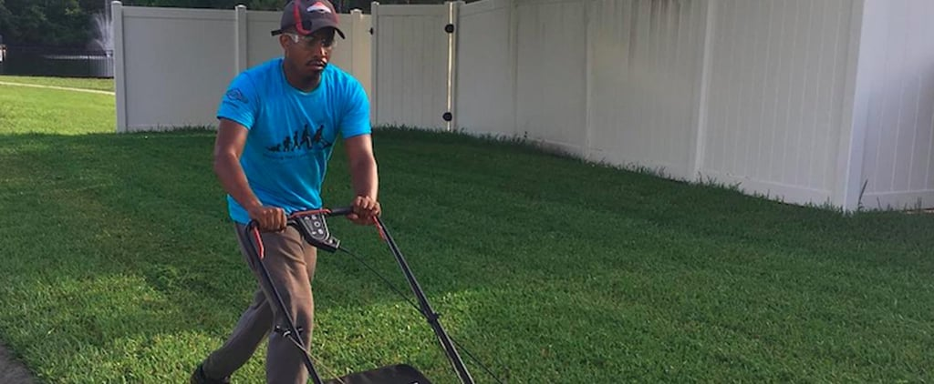 Man Mowing Lawns For Free Across 50 States