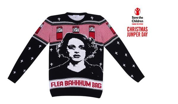 Flea Ba-hum-bag Christmas Jumper