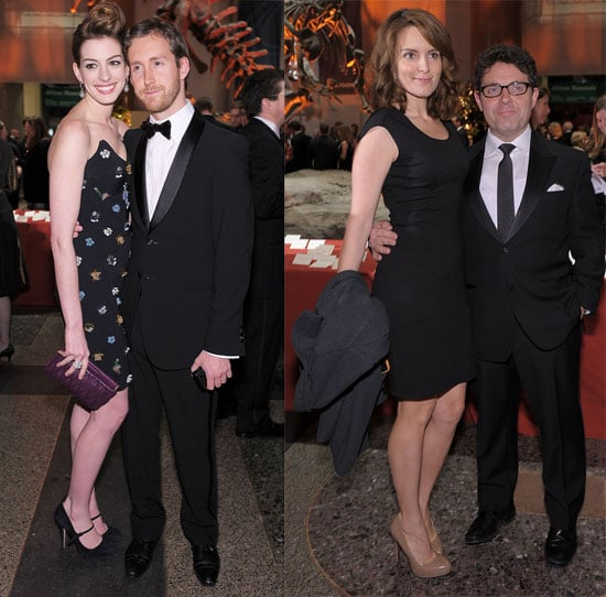 Pictures of Tina Fey, Jeff Richmond, Anne Hathaway, and Adam Shulman at the Natural History Museum Gala 2010-11-19 10:00:00