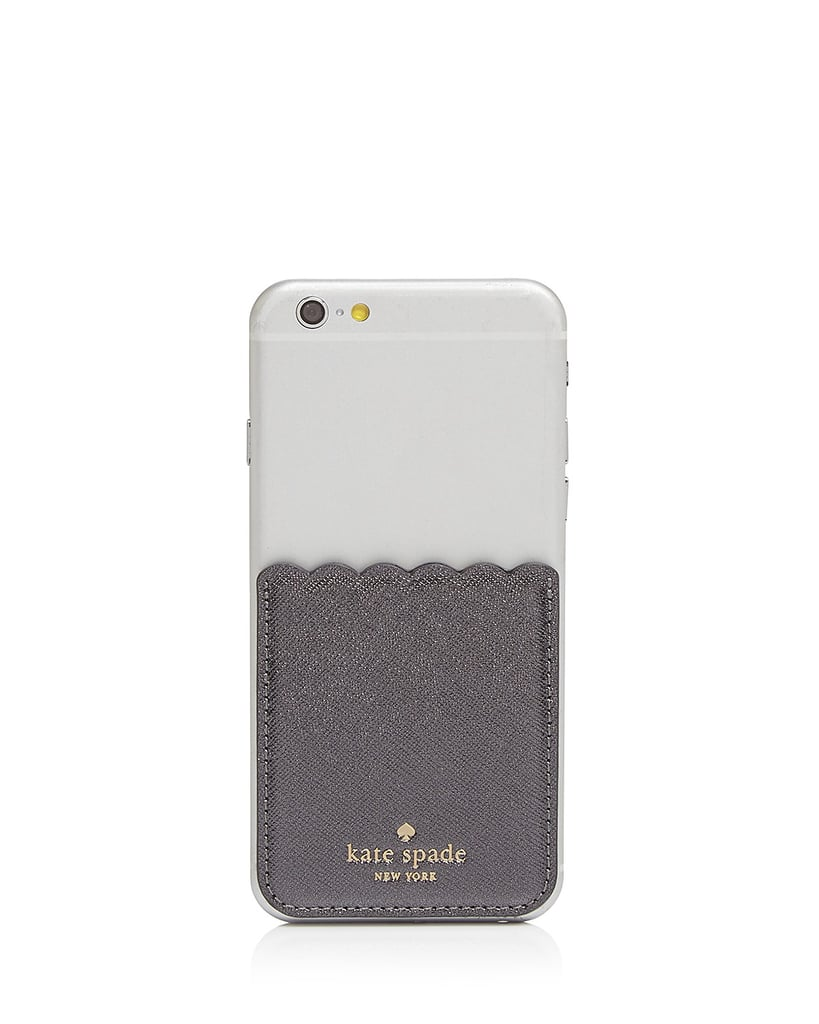 Kate Spade Scallop Pocket Card Case ($28)