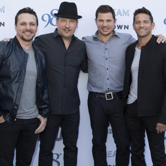 "Joey Fatone Performs ""Bye Bye Bye"" With 98 Degrees 