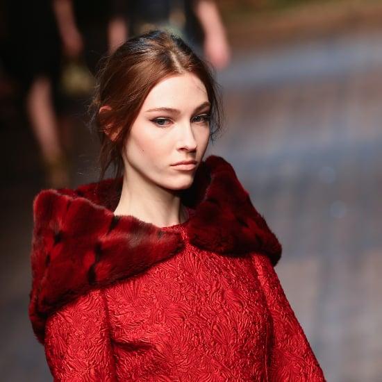 Cat Eyes and Soft Hair Dolce & Gabbana Milan Fashion Week