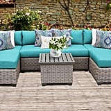 Florence 7 Piece Outdoor Wicker Patio Furniture Set