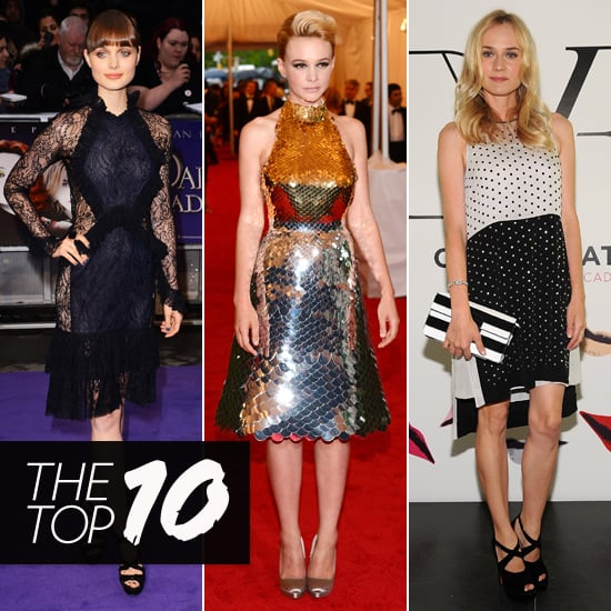 Top 10 Best Dressed Celebrities This Week Including Gwyneth Paltrow, Carey Mulligan And Diane Kruger